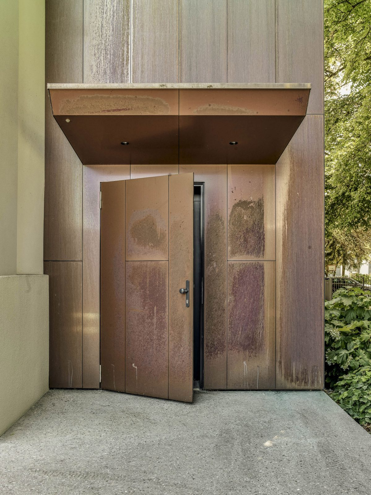 Tür Kupfer