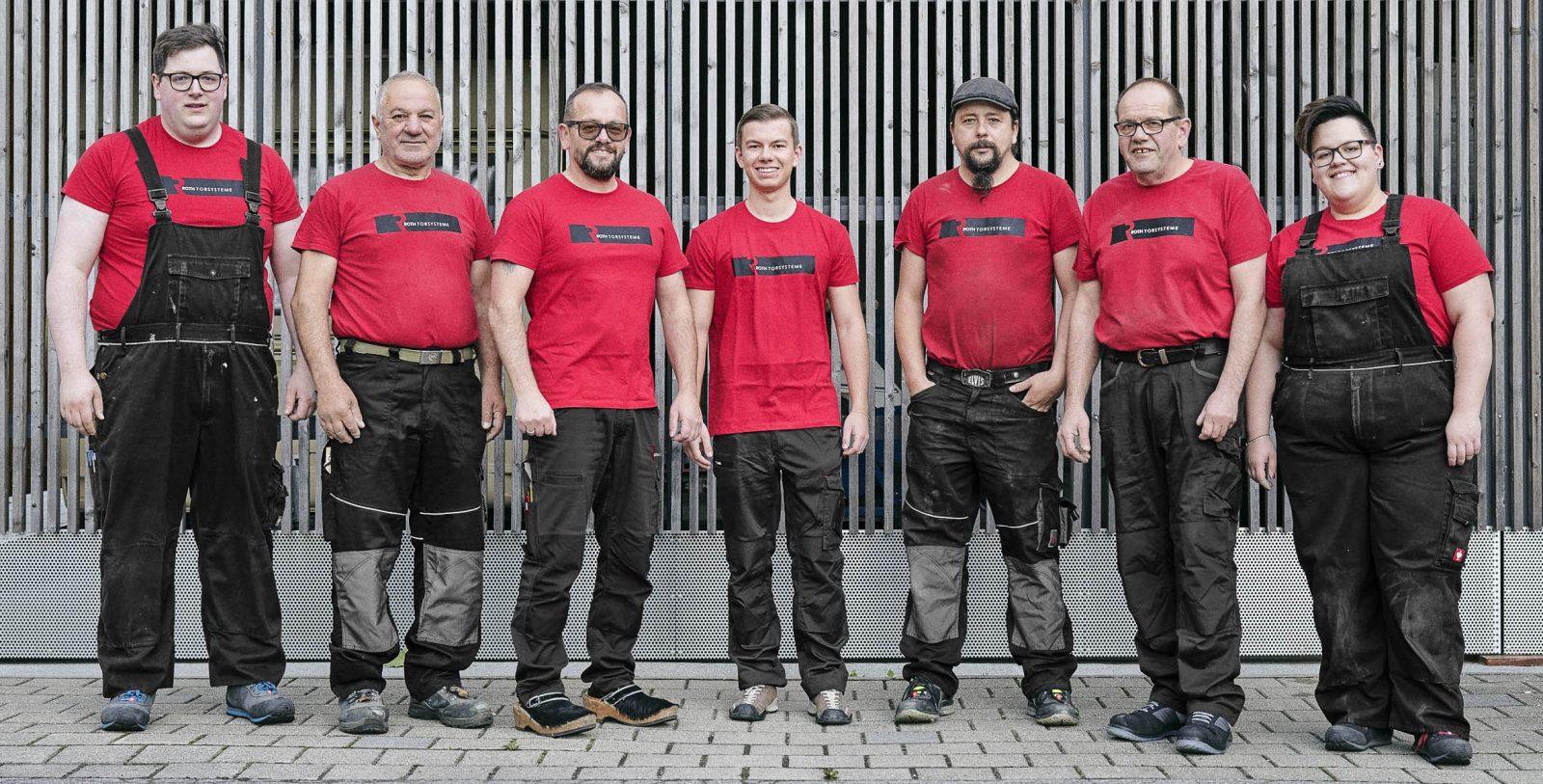 Roth Tore Türen Team